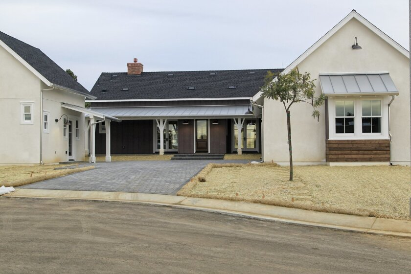 A full-priced home at the Mainhouse complex in Encinitas.