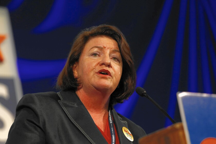Democratic lawmakers are threatening to oust Assembly Speaker Toni Atkins (D-San Diego) even before the session adjourns Sept. 11.