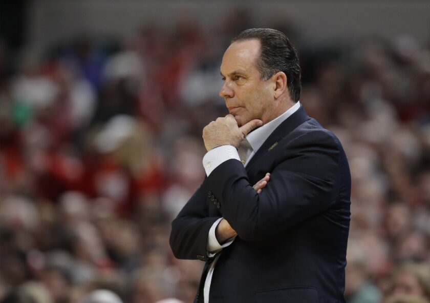 "Irish head coach Mike Brey asks ""Why don't ADs and presidents drop the hammer?"" on dirty college coaches who have been exposed by an FBI investigation."