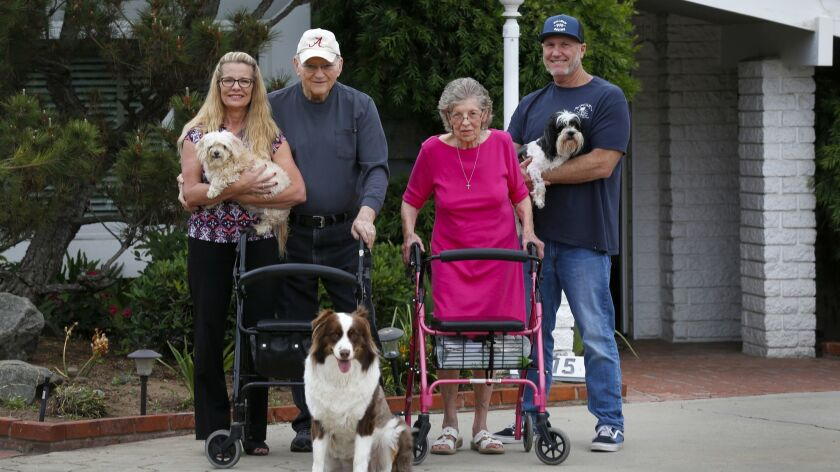 Sandra Deakman and her husband sold their Point Loma home and pulled her parents out of an independent living facility in Santee, and now they all live in a home in El Cajon.