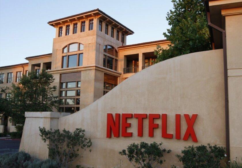 Netflix corporate headquarters in Los Gatos