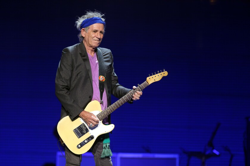 Keith Richards in 2013