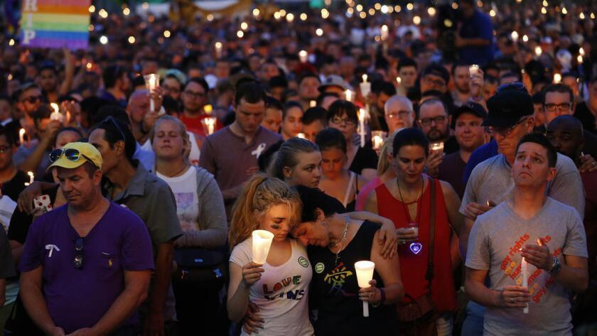Vigilia en Orlando.