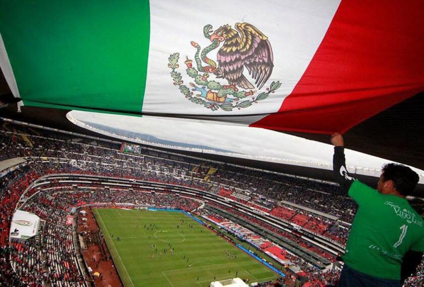 Estadio Azteca de la Ciudad de México, casa del Tri.