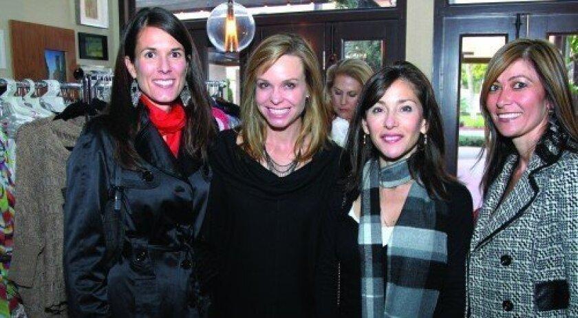 Maria Simpson, Michele Devine, Judy Rowles, Lee Davis (Photo: Jon Clark)