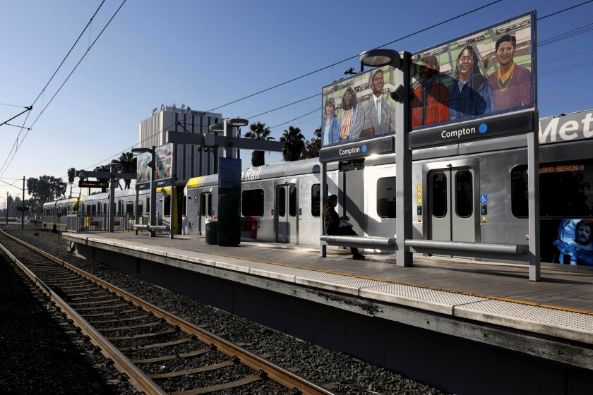 Light rail to Long Beach will reopen soon — but it won't be called the Blue Line