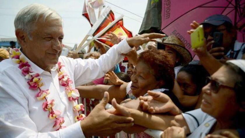 Andrés Manuel López Obrador es el candidato más popular en la elección presidencial de México.