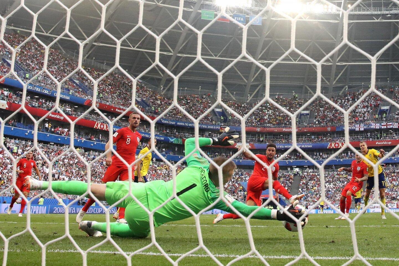 Suecia 0-2 Inglaterra
