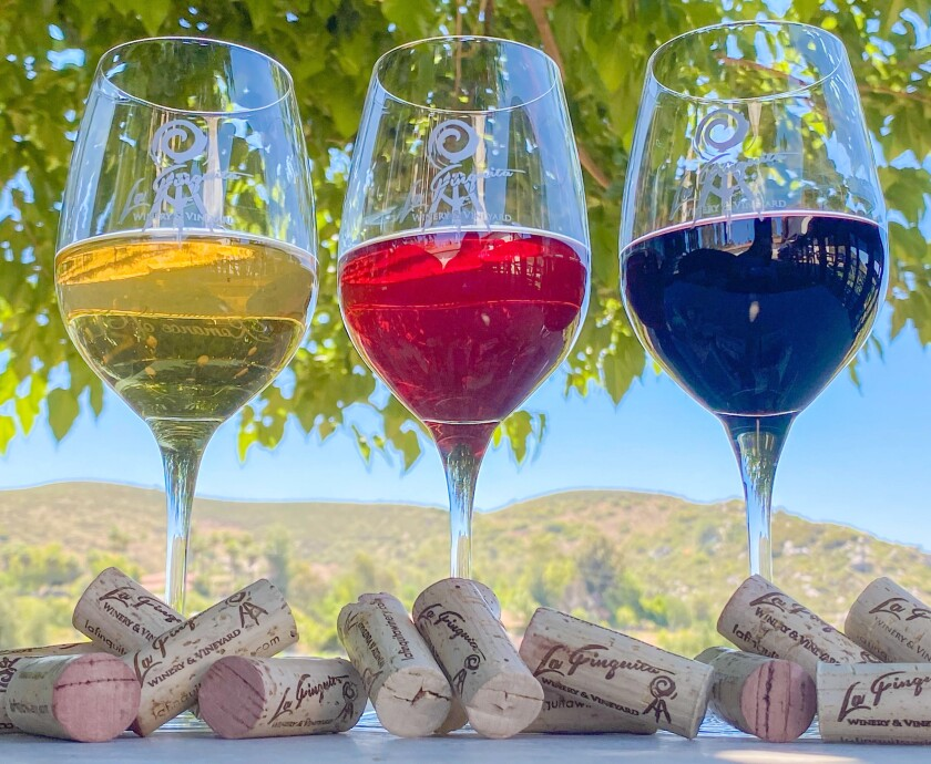 La Finquita Winery & Vineyards accepts reservations and offers one-on-one table service.
