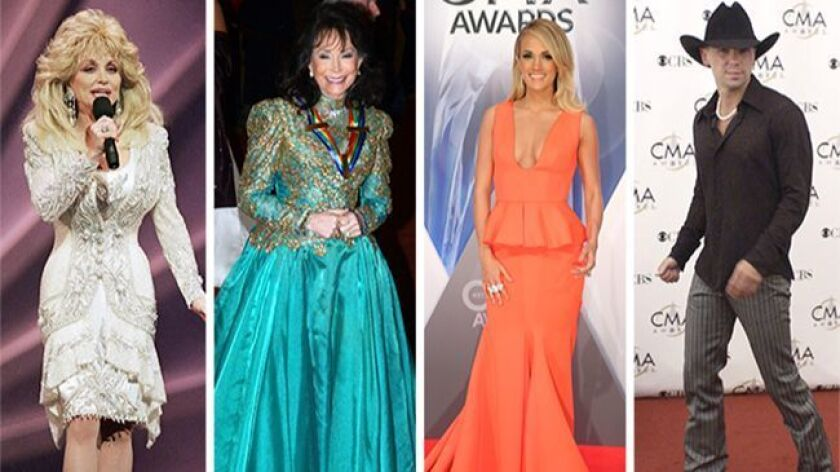 Dolly Parton, Loretta Lynn, Carrie Underwood and Kenny Chesney