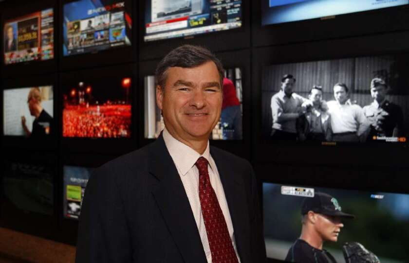 DirecTV CEO Mike White is frustrated by the TV impasse regarding Dodgers games.