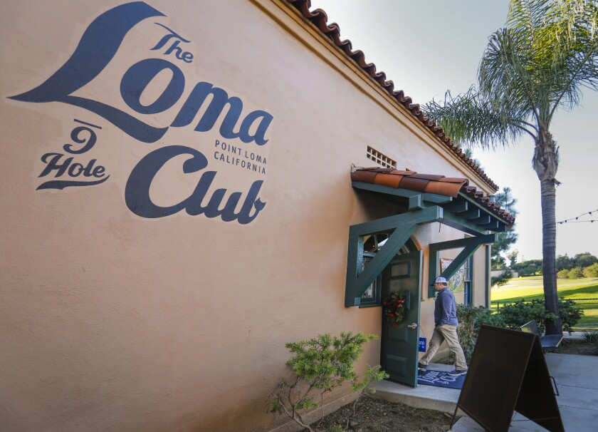 The Loma Club golf course in Point Loma is preparing to reopen next week.