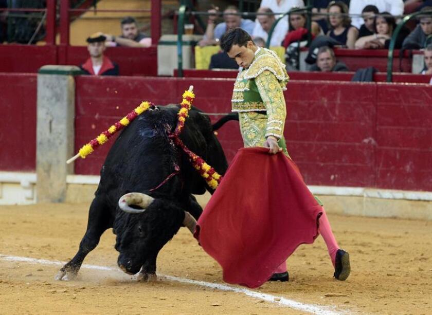En la imagen, el diestro español Paco Ureña. EFE/Archivo