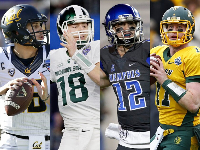NFL quarterback prospects