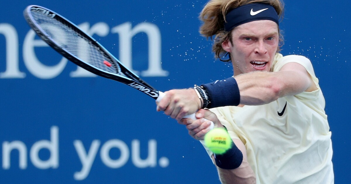 Column: Russian tennis star Andrey Rublev adds elite firepower to new San Diego Open