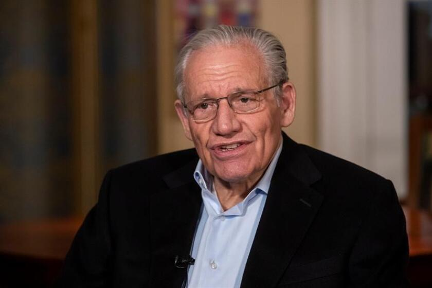US Journalist Bob Woodward speaks during an interview at his home in Washington, DC, USA, 06 March 2019 (Issued 09 March 2019). EFE/EPA