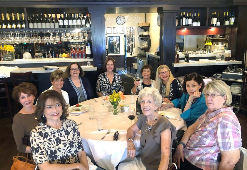Members of the Professional Women's Networking Group