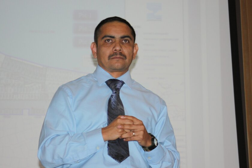 Mario Reyes, manager of the utilities undergrounding program