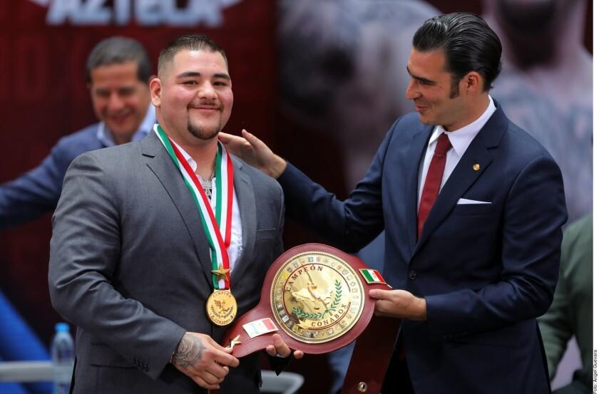 El mexico-estadounidense planea la revancha ante Joshua a final de año.