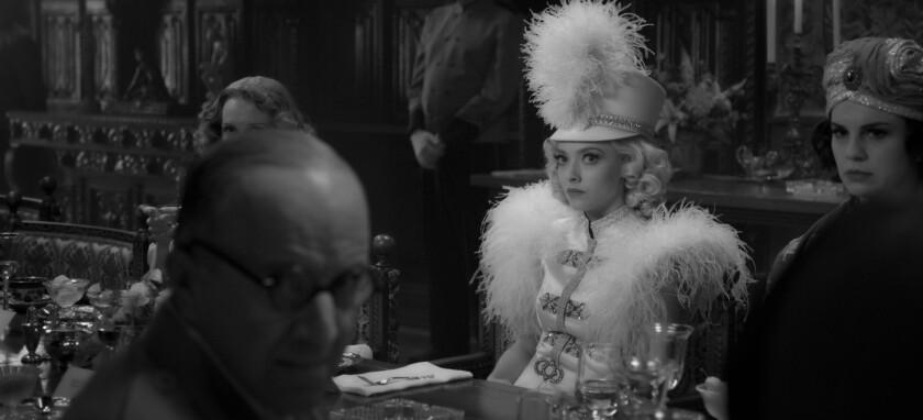 "Amanda Seyfried in the film ""Mank."""