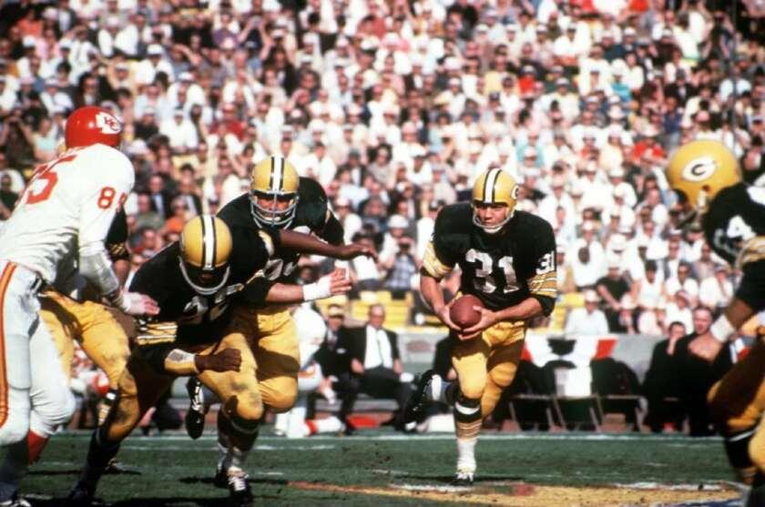 Super Bowl I: Packers vs. Chiefs, 15 de enero de 1967.