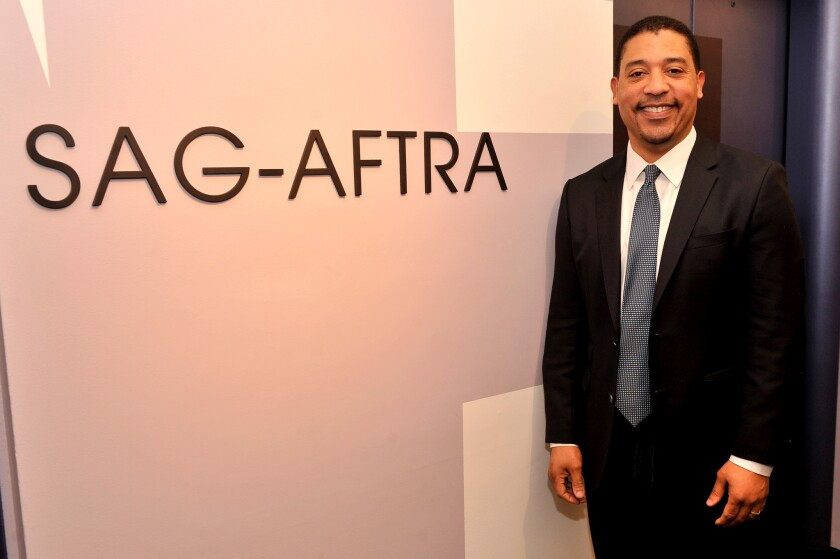 David White is national executive director of SAG-AFTRA, Hollywood's largest union.