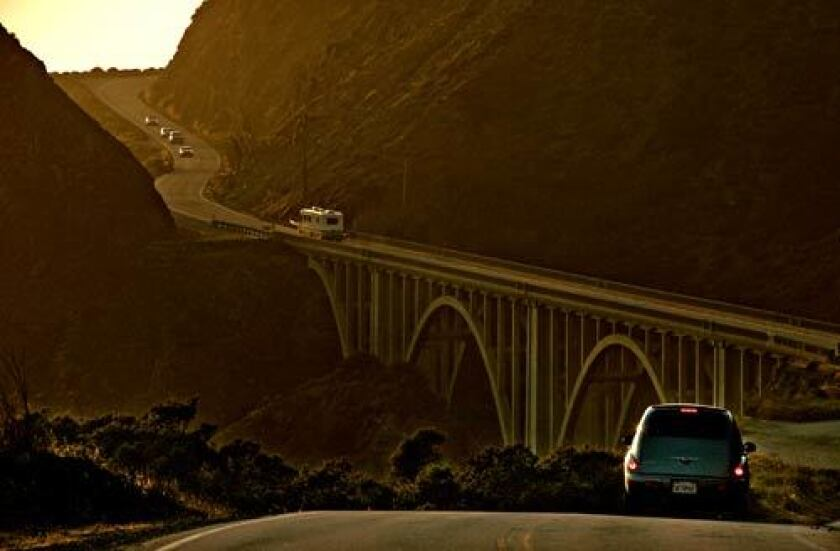 The drive along Highway 1 near Big Sur offers its own breathtaking views during a road trip.