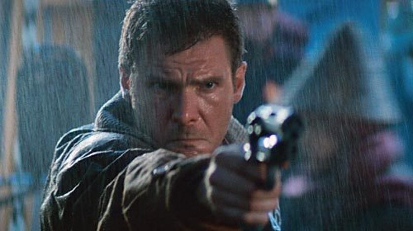 """Harrison Ford in the movie """"Blade Runner."""""""