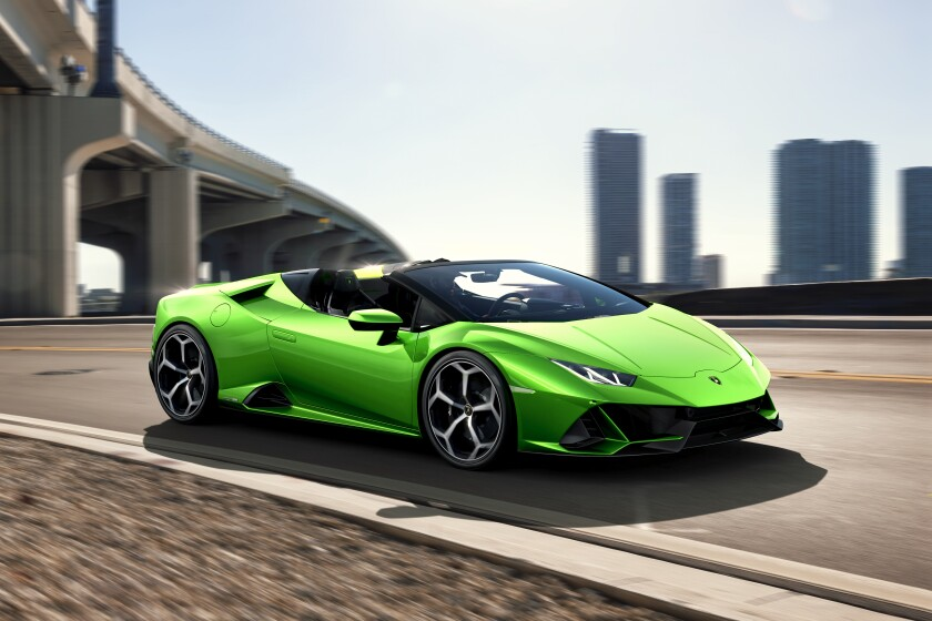 2020 Lamborghini Huracan AVO Spyder