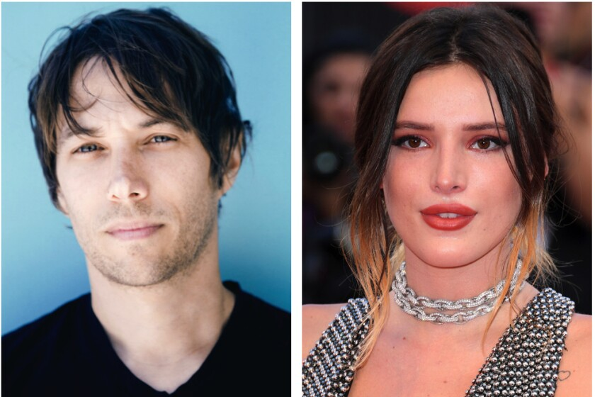 Filmmaker Sean Baker and actress Bella Thorne may be teaming on a film about OnlyFans.