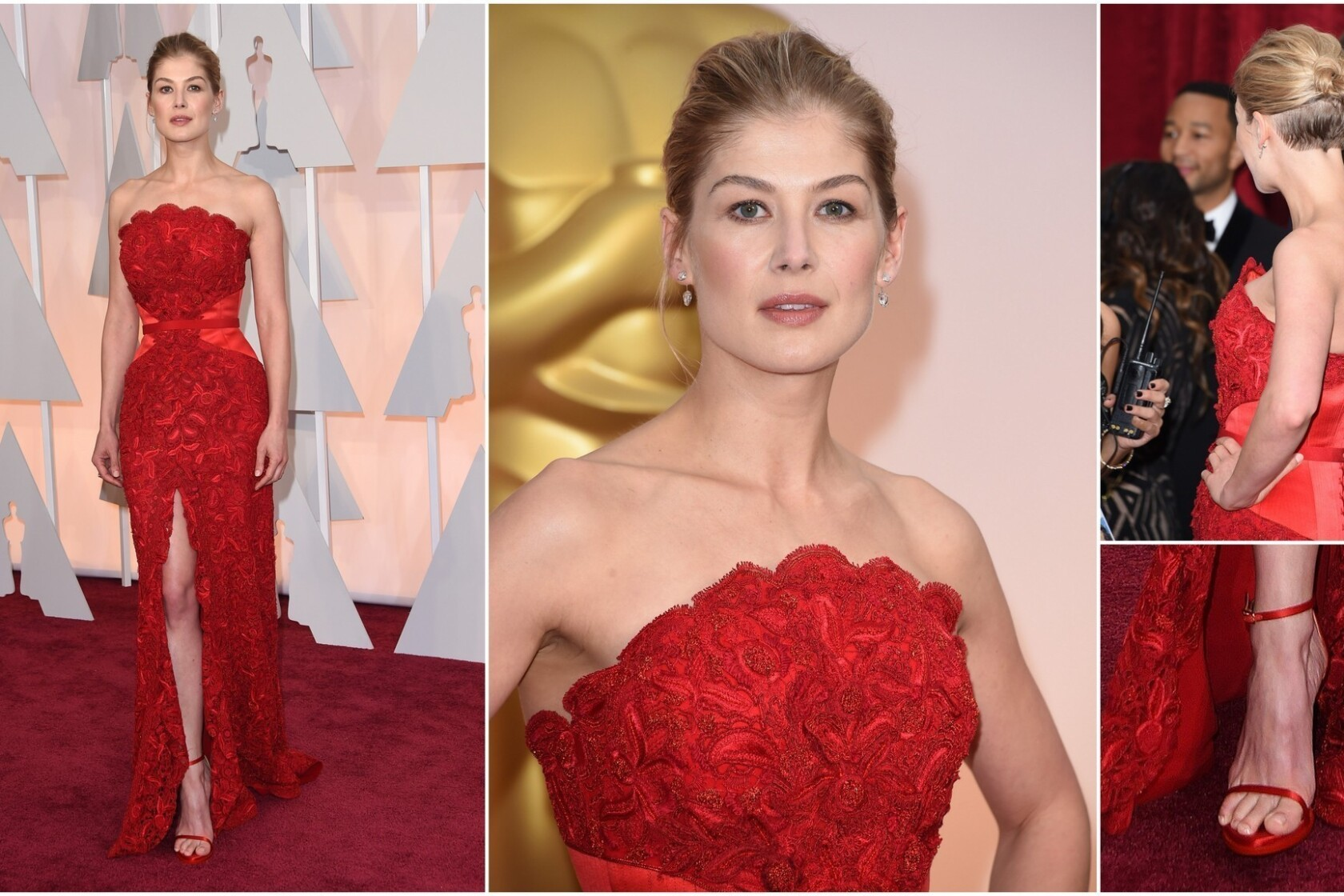 Golden Globes 2015 Red Carpet Off To A Bad Start With Rosamund Pike Los Angeles Times