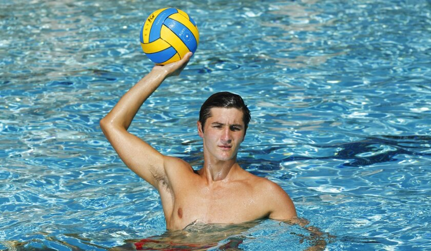 Brett Ormsby has coached a long list of talented water polo players at Cathedral Catholic, including Marko Vukojevic (pictured), who helped the Dons win a fourth straight San Diego Section title last year. Ormsby talks about the Dons' chances for a fifth straight championship on the U-T Prep Show.