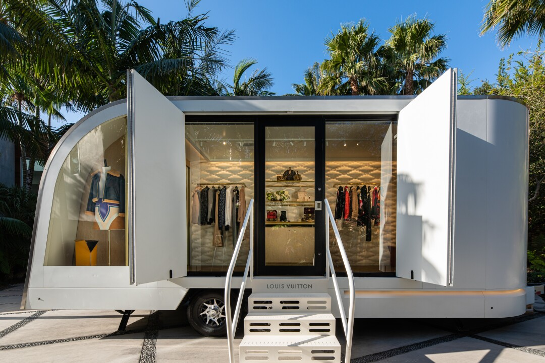 LV by Appointment traveling retail store