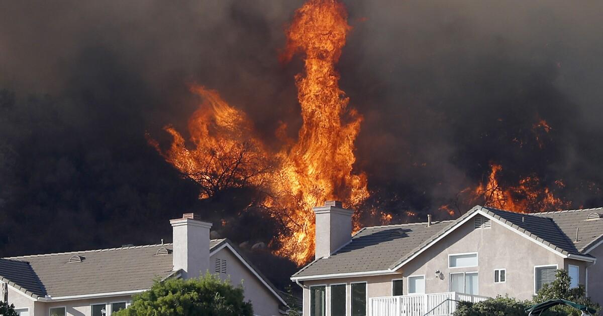 Φωτιά καιρός ρολόι που εκδίδονται για το Λος άντζελες και Βεντούρα κομητείες ξεκινώντας την πέμπτη το πρωί