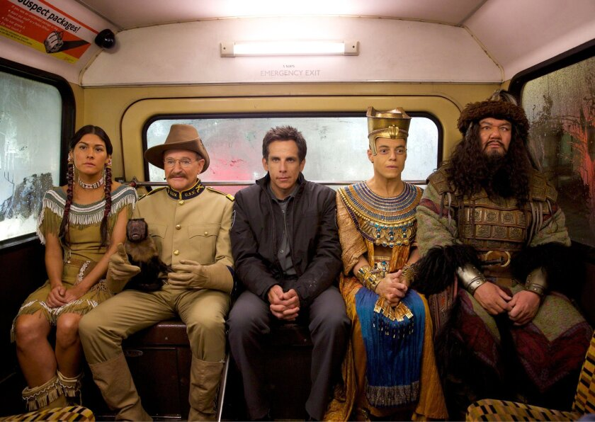 Scene from 'Night at the Museum'