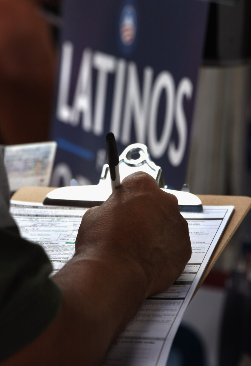 Los votantes hispanos podrían ser 28 millones y los de origen mexicano 16 millones, algo así como el 7% de quienes votan.