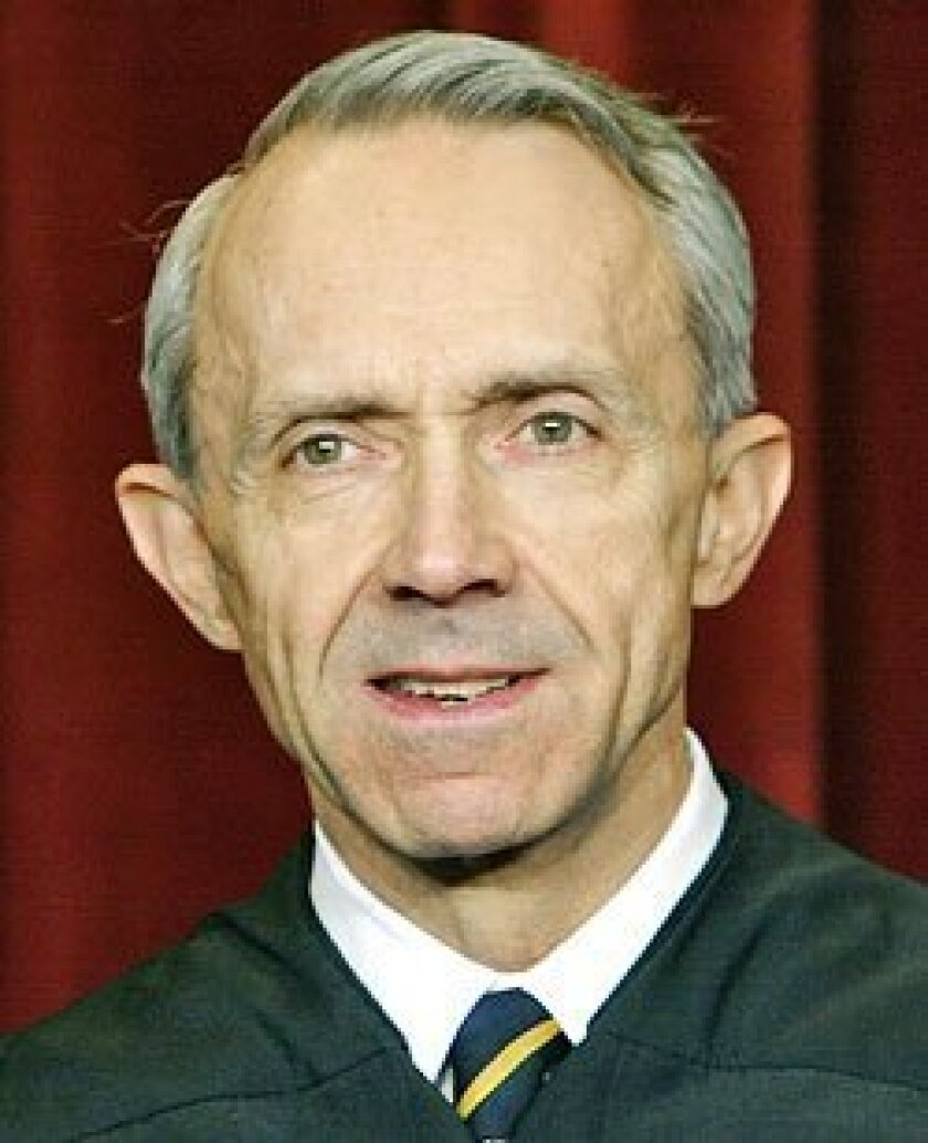 Justice David Souter, 69, was appointed to the Supreme Court in 1990 by President George H.W. Bush. (AP)