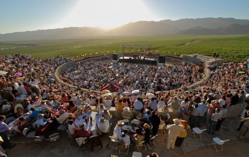 Valle de Guadalupe's 23rd annual wine festival continues this weekend