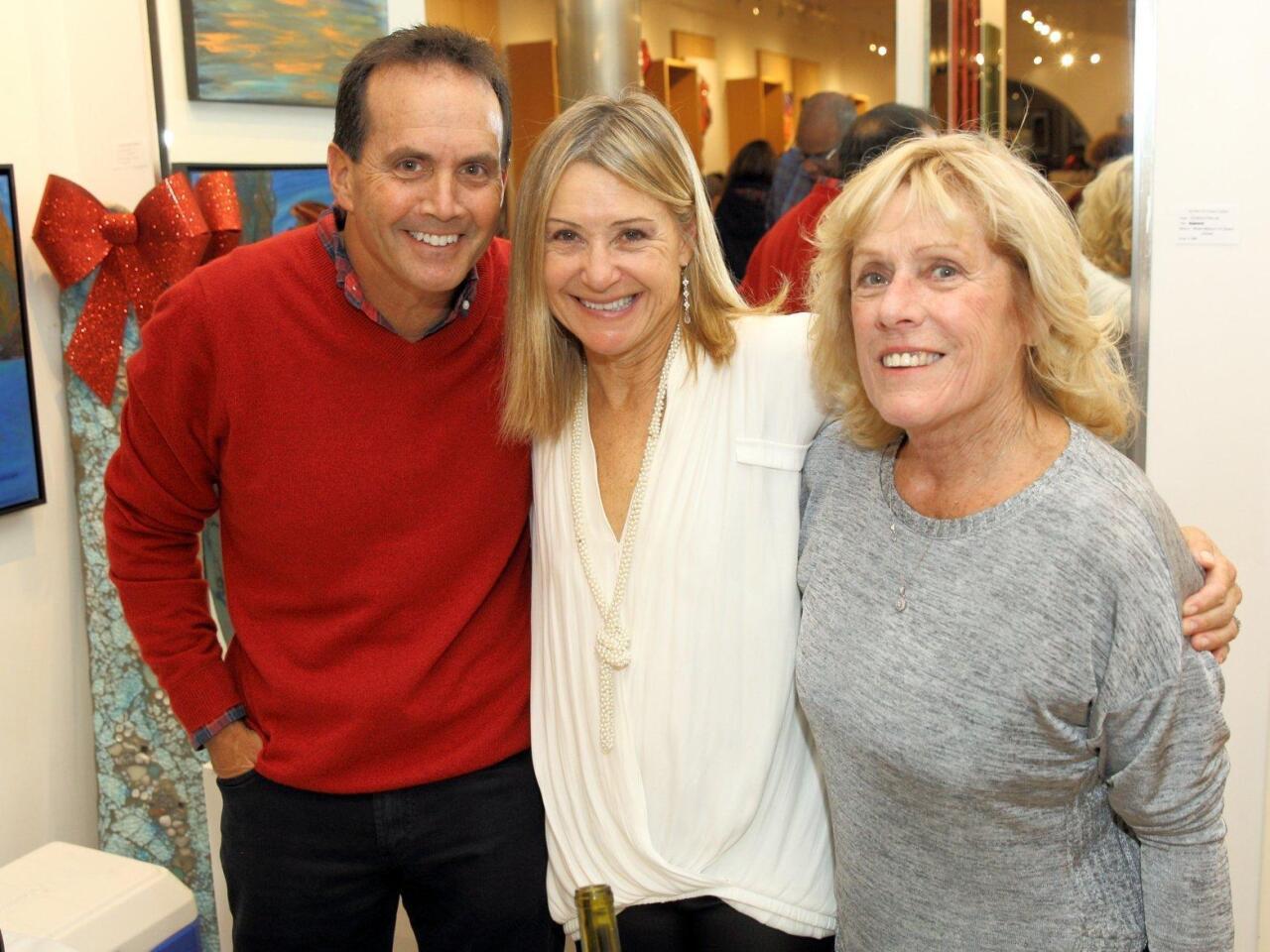 Tony and Kelly Villasenor, Libby McMahon