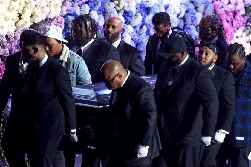Nipsey funeral service