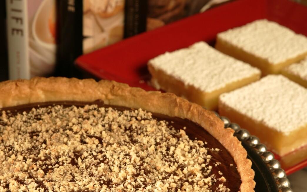 Orange chocolate ganache tart