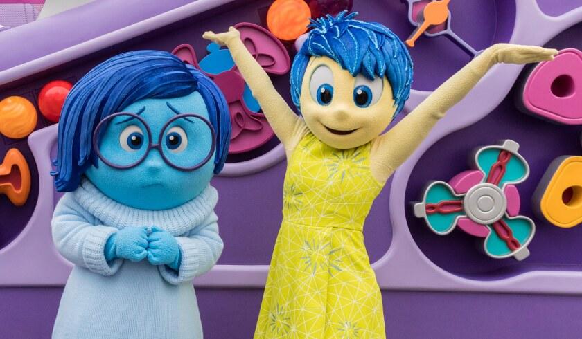 Joy and Sadness at Disney California Adventure Park