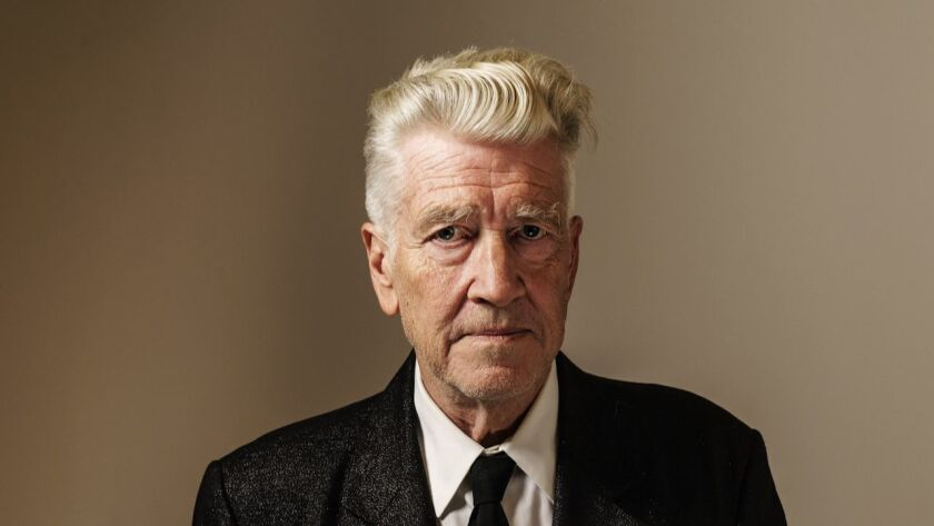 David Lynch photographed last month in Los Angeles.