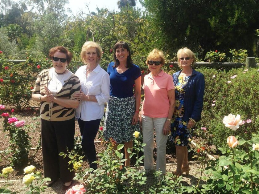 The RSF Garden Club Grant Committee, L-R: Pam Wasserman, MaryAnn Smith, Anne Rogers, Laverne Schlosser, Susan Glass. Courtesy photo