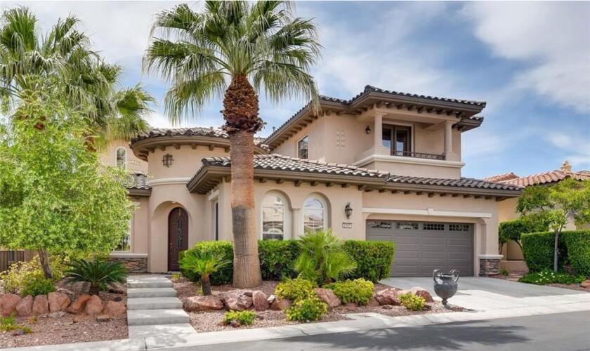 Orel Hershiser's Las Vegas home