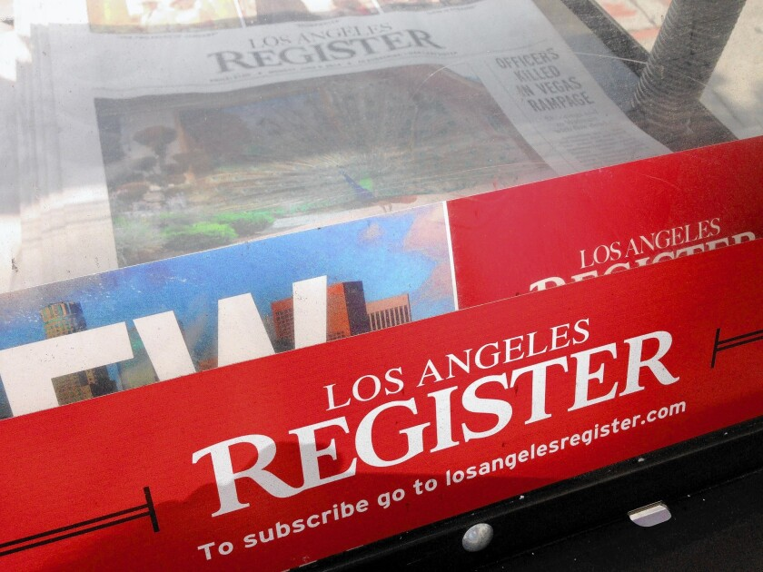Many at O.C. Register apply for buyouts as layoffs at newspaper loom