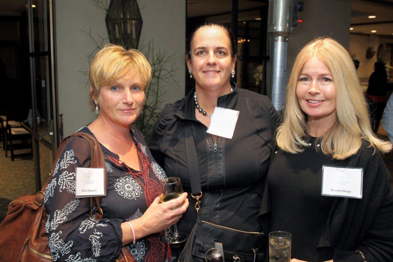 Rona Shapouri, Marcia McDonough, Brenda Kleege