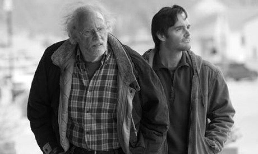 """Bruce Dern, left, and Will Forte star in Alexander Payne's """"Nebraska."""""""