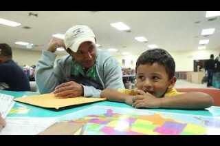Immigrant aid in McAllen, Texas