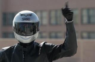 Highway 1: Motorcycle hand signals